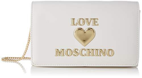 Love Moschino Precollezione SS21 | Borsa a Spalla da Donna, Bianco,...