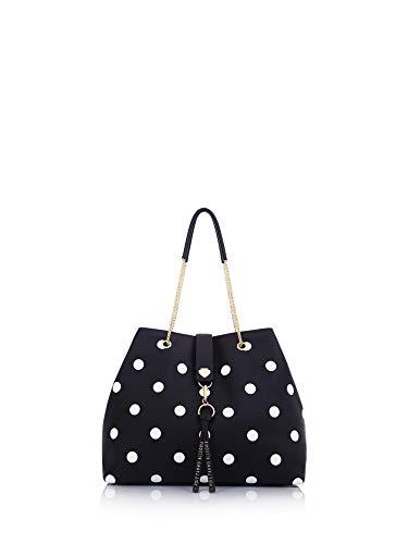 Le Pandorine Borsa shopping Dotty Bag ALLEGRIA Black