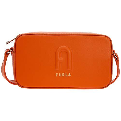 FURLA borsa a tracolla donna arancio