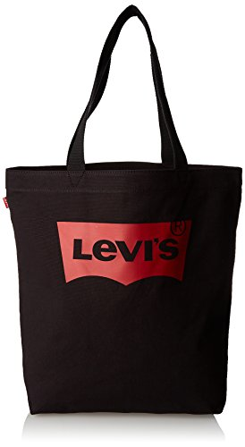 Levi's LEVIS FOOTWEAR AND ACCESSORIES Batwing Tote W - Donna, Nero...
