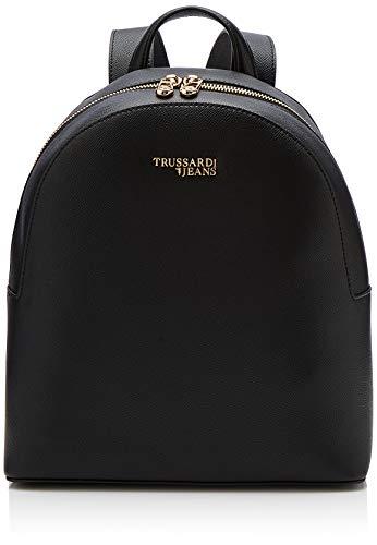 Trussardi Jeans T-Easy Light Backpack, Zaino Donna, Nero, 26x30x11.5...