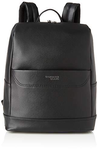 Trussardi Jeans Business City Backpack MD SAFF Uomo, K299, NR