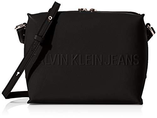 Calvin Klein Box Camera Bag - Borse per PC portatili Donna, Nero...