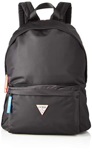 Guess Smart Backpack, Zaino Uomo, Nero (Black), 12 x 42 x 31 cm (W x H...
