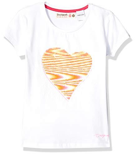 Desigual Maglietta Paillettes Double Face 19SGTKA3 T-Shirt Donna...