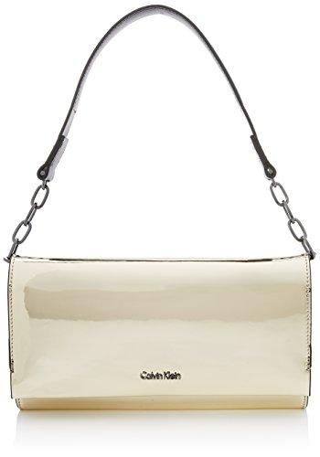 Calvin Klein Instant Clutch On Chain Metalic - Pochette da giorno...