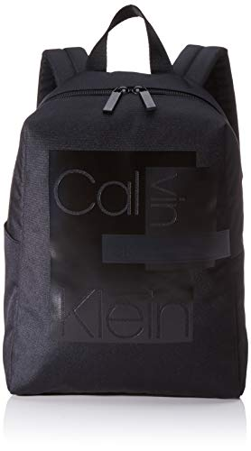 Calvin Klein Layered Round Backpack - Borse a spalla Uomo, Nero...