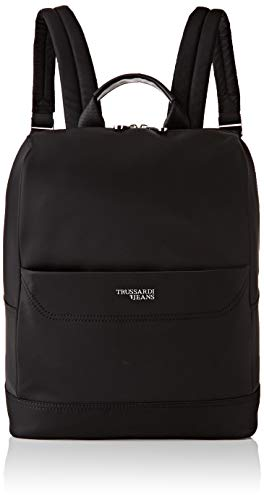 Trussardi Jeans Business City Backpack Md Nylo, Zaino Uomo, Nero...