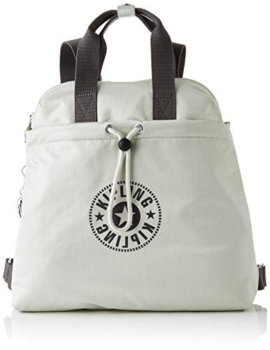 Kipling GOYO M, Backpacks Donna, Dynamic Silver, 14x34x32.5 cm