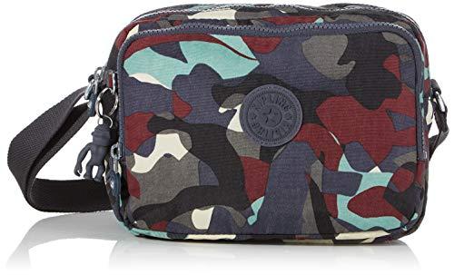 Kipling Silen - Borse a tracolla Donna, Multicolore (Camo Large),...