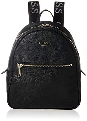 Guess Vikky Backpack, Bags Hobo Donna, Black, One Size