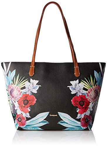 Desigual Bag Oima Capri Zipper Women - Borse a spalla Donna, Nero...