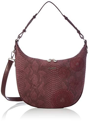 Desigual Accessories PU Shoulder Bag, Borsa a Tracolla. Donna, Rosso,...