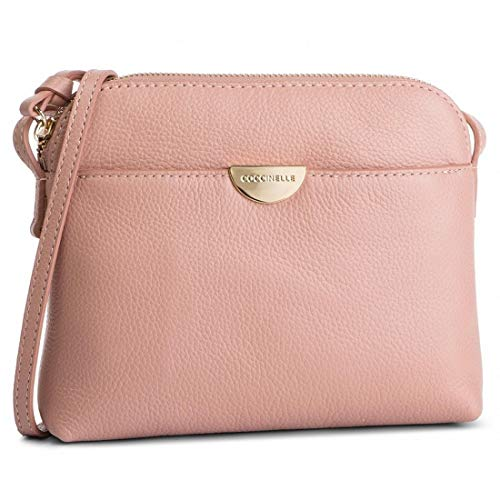 Coccinelle Mini Half Crossbody Bag Pivoine
