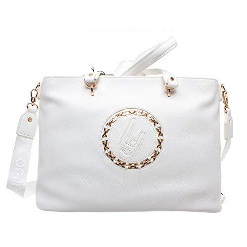 LIU JO SHOPPING BAG N19212E0037 01065 OFF WHITE