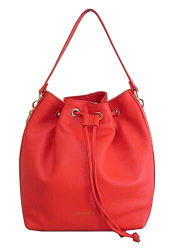 Coccinelle Borsa alpha secchiello soft E1FS5230101 R08 polish red