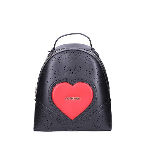 Love Moschino ZAINO HEART EMBROIDERY NERO JC4218PP0AKC100A