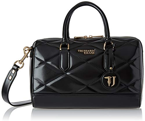 Trussardi Jeans T-Easy City Quilt Bauletto MD, Borsa a Mano Donna,...