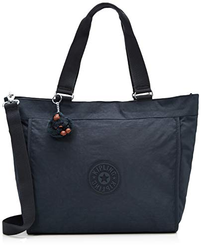 Kipling New Shopper L - Borse a tracolla Donna, Blu (True Navy),...