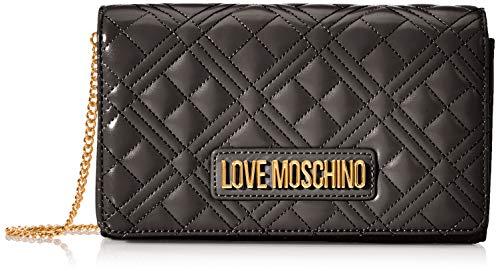 Love Moschino Jc4247pp0a, Pochette da Giorno Donna, Nero (Black...