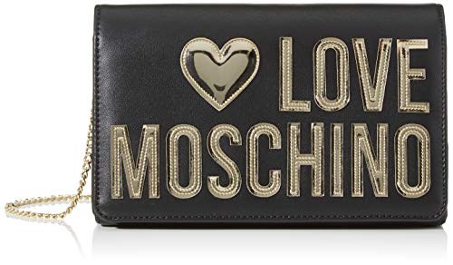 Love Moschino Jc4248pp0a, Pochette da Giorno Donna, Nero (Black Calf),...