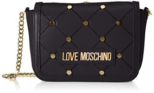 Love Moschino Jc4099pp1a, Borsa a Spalla Donna, Nero (Nero), 8x13x19...