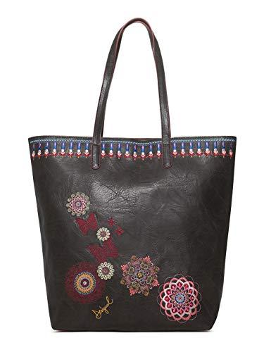 Desigual Bag Chandy Rio Zipper Women - Borse a spalla Donna, Nero...
