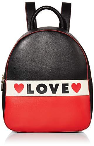 Love Moschino Borsa Small Grain Pu, Zainetto Donna,...