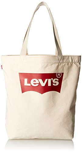 Levi's LEVIS FOOTWEAR AND ACCESSORIES Batwing Tote W - Donna, Beige...