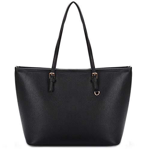 COOFIT Shopping Bag Donna, Borse a Spalla Donna in PU Pelle Borse Tote...