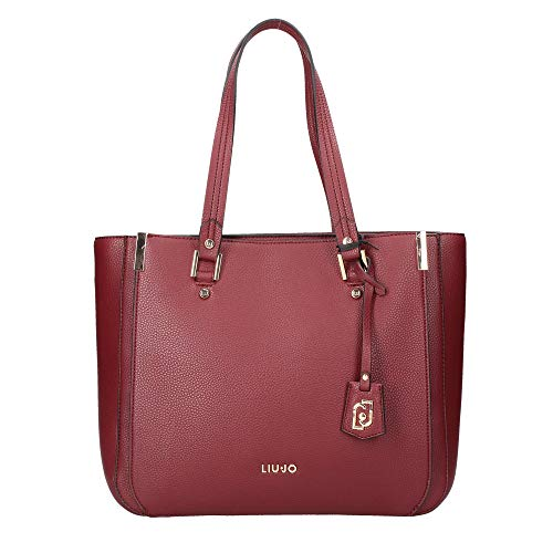 LIU JO SHOPPING BAG N69006E0033 91725 RUBY WINE