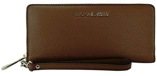 Michael Kors Jet Set Travel Continental Leather Wristlet - Luggage