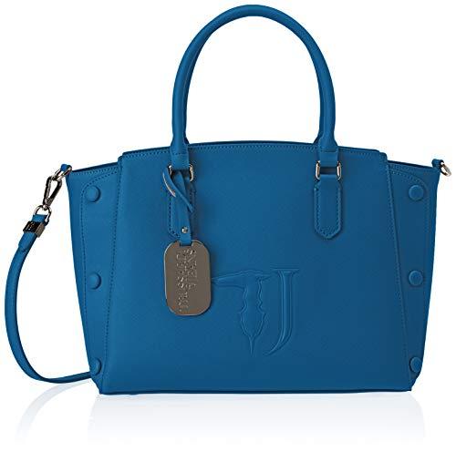 Trussardi Jeans Melissa Tote Medium Bag Covered Studs, Borsa Donna,...