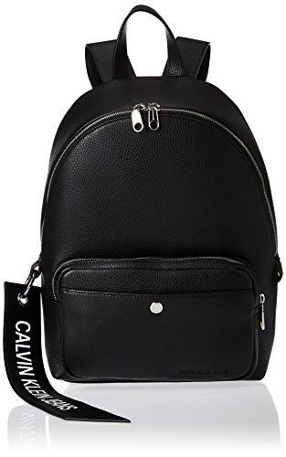 Calvin Klein Ckj Banner Cp Backpack 35 - Zaini Donna, Nero (Black),...