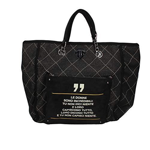 Borsa Donna Shopping Incredibili | Le Pandorine | AI19DAU0240012-Black