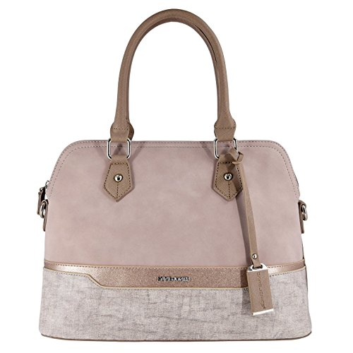 David Jones - Borsa a Mano Donna Bugatti - Satchel Tote Shopper Bag a...
