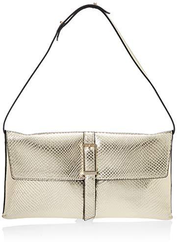 Calvin Klein Winged Shoulder Bag - Borse a tracolla Donna, Oro...