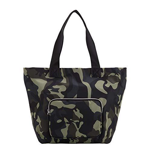 CARPISA® Borsa shopper donna con tasca frontale- BLENDA REMIX