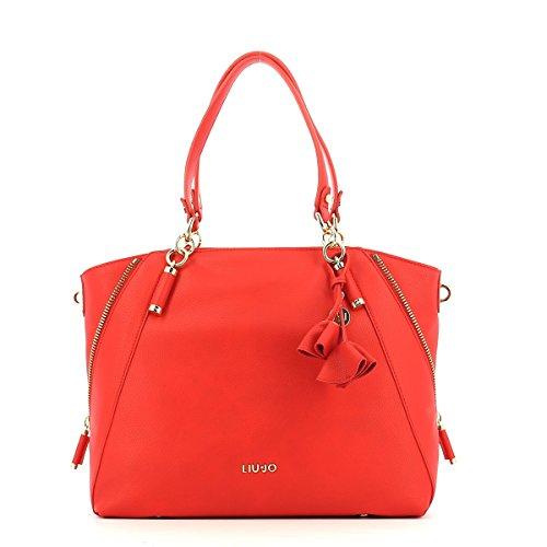 LIU JO NIAGARA SHOPPING BAG N18120E0037-81662 FLAME RED