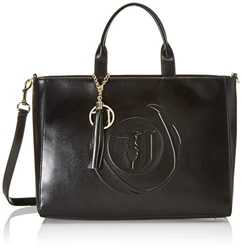 Trussardi Jeans Faith Shopper Lg Smooth Ecolea, Borsa a mano Donna,...