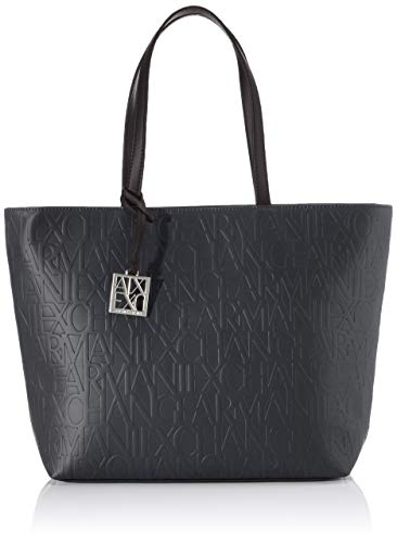 ARMANI EXCHANGE Liz-Open Medium Shopping Tote, 28 x 11 x 40 cm, Nero...
