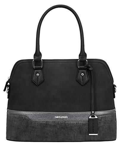 David Jones - Borsa a Mano Donna Bugatti - Satchel Tote Shopper Bag a...