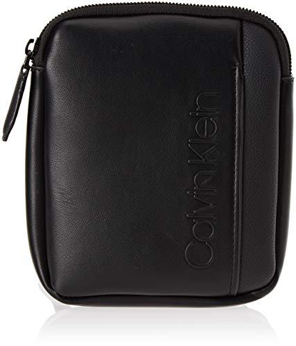 Calvin Klein Jeans Elevated Logo Mini Flat Crossover - Borse a spalla...