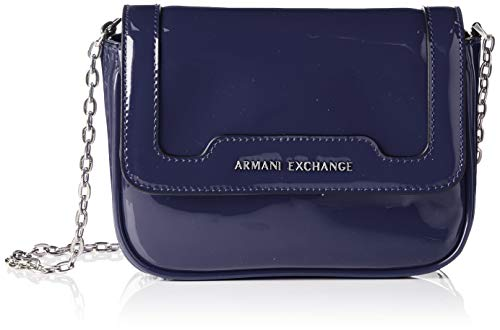 ARMANI EXCHANGE Crossbody Bag Colorful - Borse a spalla Donna, Blu...