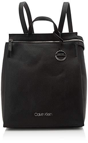 Calvin Klein Sided Backpack - Zaini Donna, Nero (Black), 1x1x1 cm (W x...