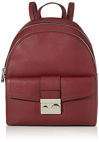 Trussardi Jeans with Love City Backpack MD Eco, Zaino Donna, Rosso...