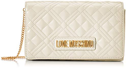 Love Moschino Jc4247pp0a, Pochette da Giorno Donna, Avorio (Ivory...