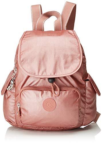 Kipling City Pack Mini - Zaino Donna, Rosso (Metallic Rust), 27x29x14...