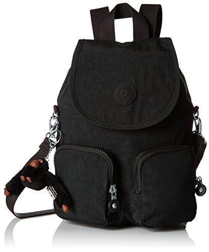 Kipling Firefly Up - Zaini Donna, Nero (True Black), 22x31x14 cm