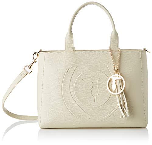 Trussardi Jeans Faith Shopper MD Tumbled ECOLE Donna, W001, NR